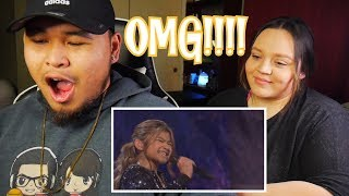 """Angelica Hale: 11-Year-Old Singer STUNS With """"Impossible"""" - AGT : The Champions   Reaction"""