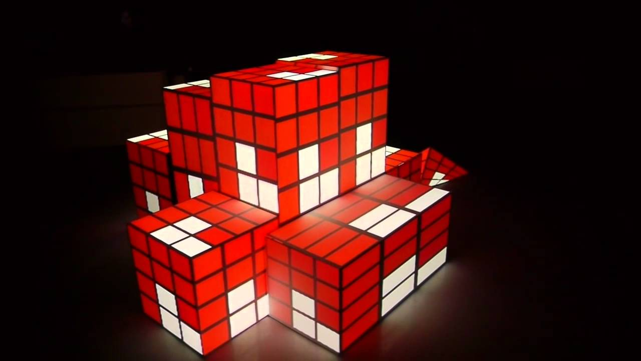 Projection Mapping Cubes Mapping on Cubes With