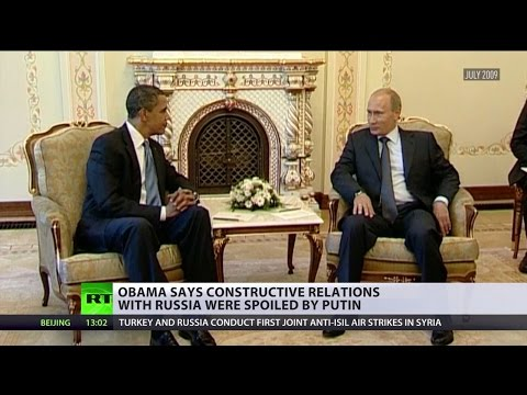 Blame Putin: Obama scapegoats Russian president for decline in relations