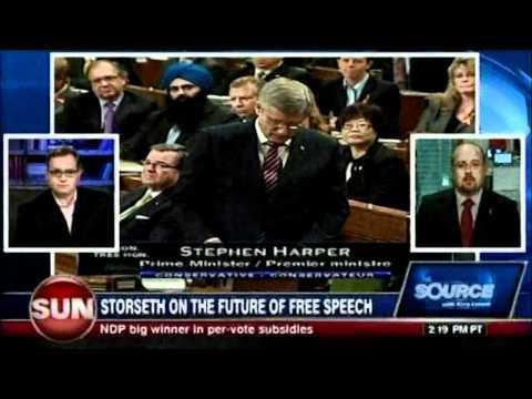 Ezra Levant and MP Brian Storseth On Section 13 Killer Bill C-304