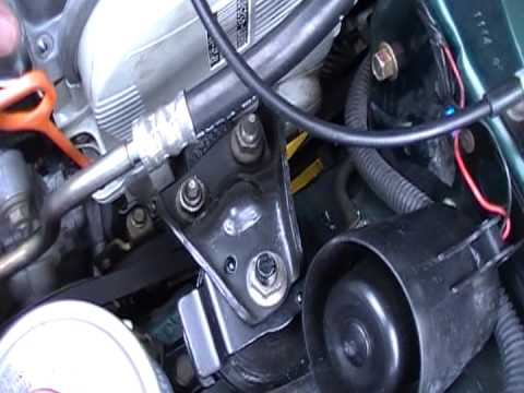 2007 Honda Civic Replacing Lower Passager Right Side Motor