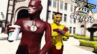 The Flash Roleplay with Scenario! And 4x05 Review (GTA 5 Flash Mod)