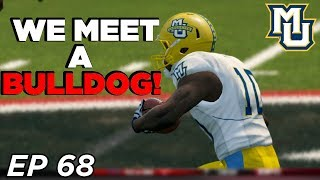 NCAA Football 14 Dynasty | Marquette - HUGE INJURY SWAYS THE GAME! - Ep 68