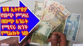 1/4 ኢትዮጵያ የውጭ ምንዛሪ በውጭ አገራት የሚኖሩ ዜጎች የሚልኩት ነው - Ethiopian forex income - DW