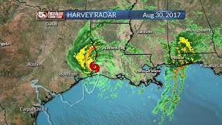 Hurricane Harvey Radar History