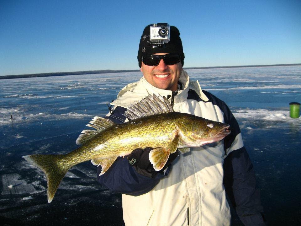 Calling lake ice fishing walleye gopro hero youtube for Ice fishing for walleye