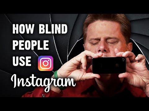 How Blind People Use Instagram Music Videos