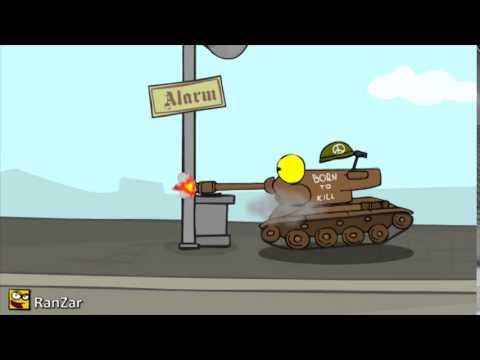 Мини мультфильм world of tanks