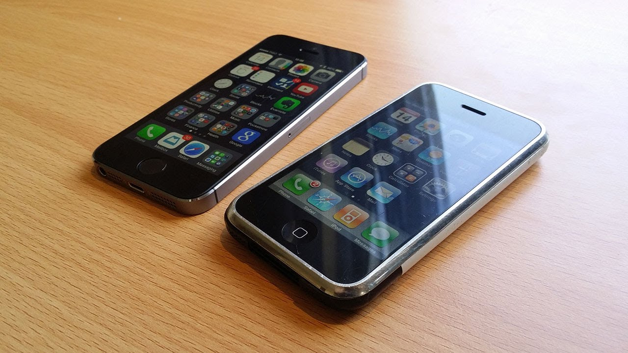 Iphone 1st Gen vs Iphone 6 Iphone 1st-gen Throwback
