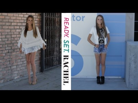Ready, Set, Rachel: Justin Bieber Inspired Looks