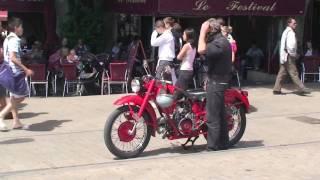 Bright Red MotoGuzzi