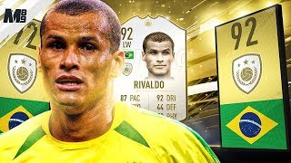 FIFA 19 RIVALDO REVIEW | 92 PRIME ICON RIVALDO PLAYER REVIEW | FIFA 19 ULTIMATE TEAM