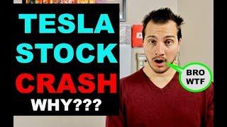 Tesla Stock Crashes after Model Y Event! I Explain Why