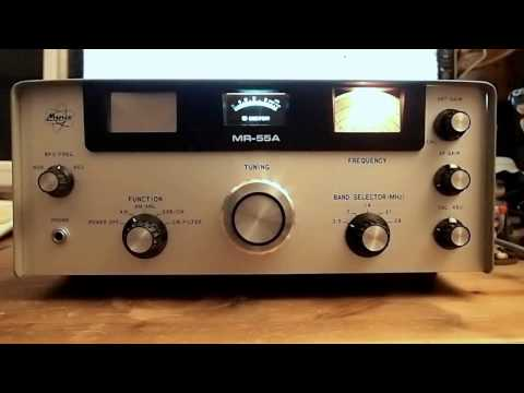 Minix MR-55A Amateurband Empfänger / shortwave ham radio - 1977