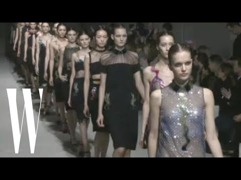 Christopher Kane Fall 2011 - runway fashion show - W Magazine