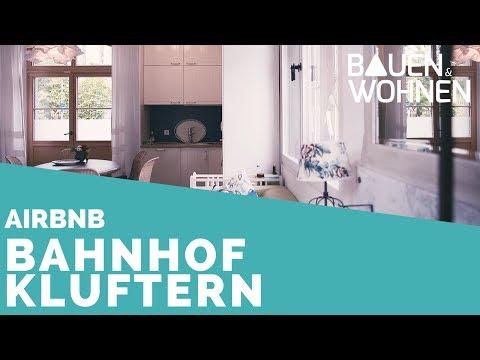 AIRBNB: Wohnen im alten Bahnhof Kluftern | BAUEN & WOHNEN