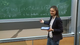 Maryna Viazovska - 6/6 Automorphic Forms and Optimization in Euclidean Space