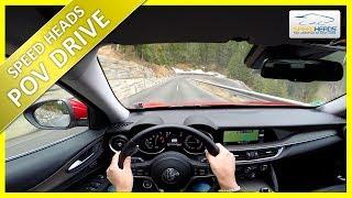 POV Drive - Alfa Romeo Stelvio (280 PS, 2.0 Turbo) - Onboard Test Drive