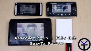 RAVPOWER 5 in 1 Wireless SD Card Reader RP-WD01 - BaayTa review