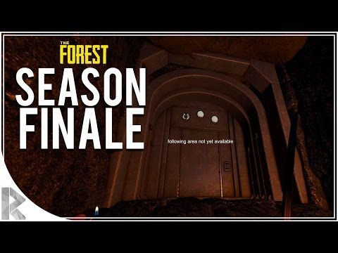 END GAME ELEVATOR? SEASON FINALE - The Forest Multiplayer w/ Vuxxy FINALE