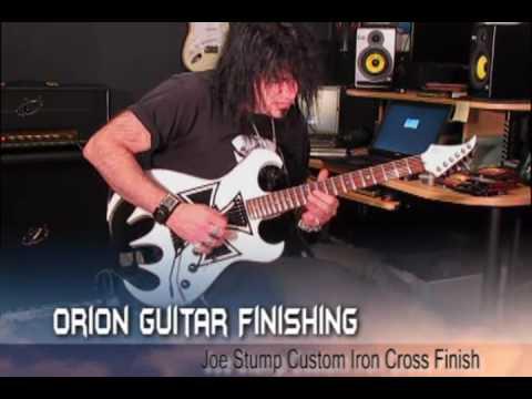 Joe Stump Shreds - Orion Guitar Finishing Custom Paint / Artwork