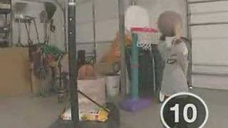 Amazing basketball skill from a little boy