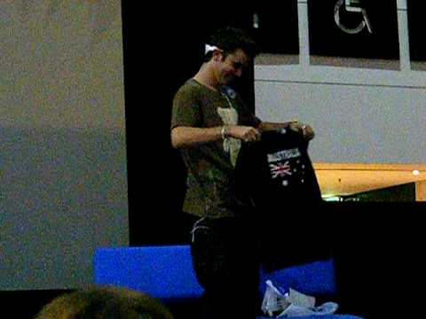 Cameron Bright at Armaggedon in Melbourne 18/10/09