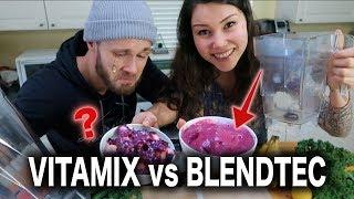 VITAMIX vs BLENDTEC | BLENDER BATTLE