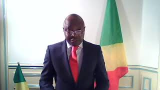 Voeux 2019, Francis Mouketo au nom du Mouvement Républicain Pour La Libération Du Congo