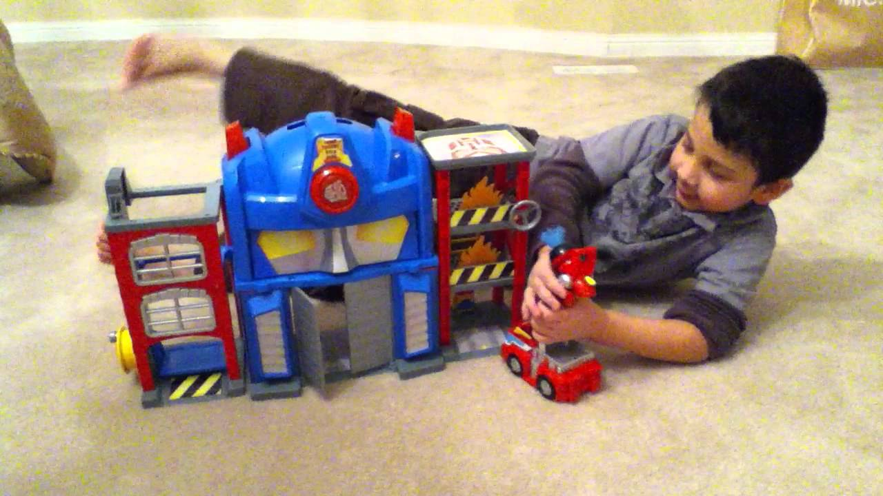 Rescue Bots Fire House Rescue Bots Fire Station
