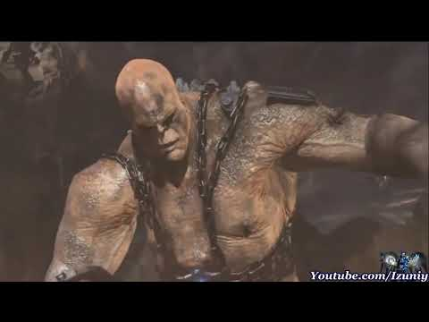 God of War 3 : Kratos Vs. Cronos Boss Battle