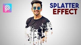 SPLATTER EFFECT PICSART | Picsart Splash Effect | Picsart Double Exposure
