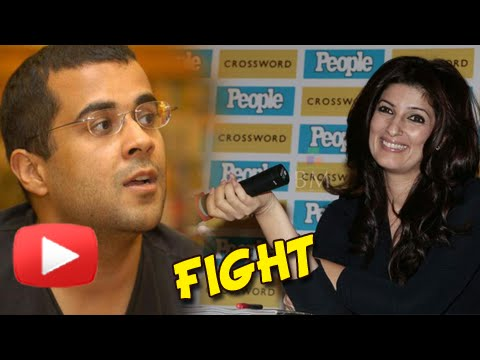 Chetan Bhagat And Twinkle Khanna Get Into A Fight On Twitter