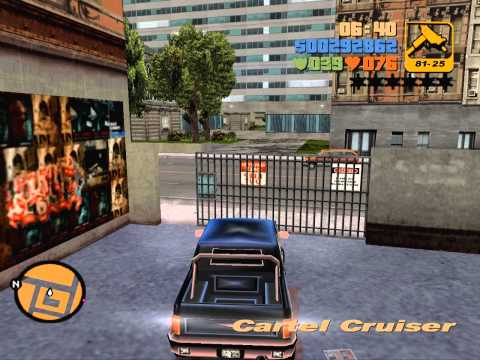 GTA3 Any% SS: ~1:24:05