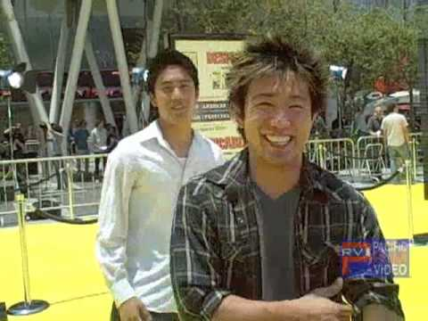 RYAN NIGAHIGA HIGA AND STEVE TERADA at the Despicable Me Premiere