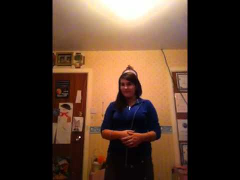 """Me singing """"Valerie"""" by Amy Winehouse"""