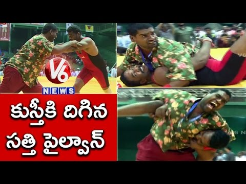 Bithiri Sathi At Wrestling Competition | Funny Conversation With Savitri | Teenmaar News