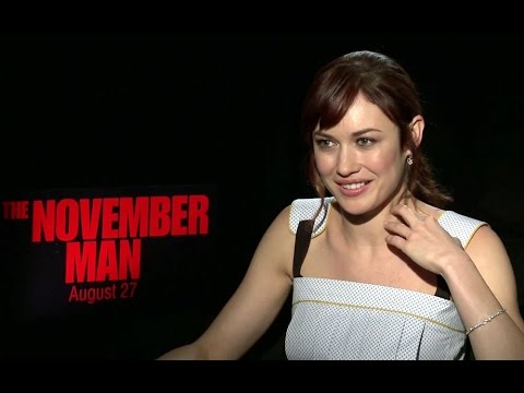 Olga Kurylenko Interview - The November Man Movie (2014) JoBlo Exclusive HD