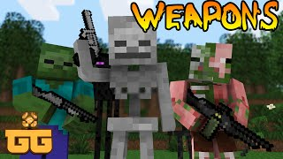 Monster School - WEAPONS [Minecraft Animation]