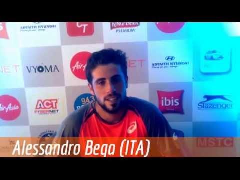 Alessandro Bega, ATP Challenger Bangalore 2015 (d. S. Devvarman 76 75)