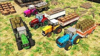 Kids Game - Cargo Tractor Simulator Hill Transport -Tractor Simulator