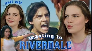 watching cringey riverdale scenes with no context lol | casey aonso