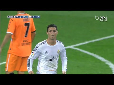 Cristiano Ronaldo Amazing Backheel Goal Vs Valencia - La Liga Goal Of The Season video