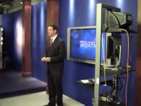 Brendon Reilly Visiting WPDE ABC News Channel 15