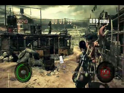 Resident Evil 5 - Sheva Semi-Nude Mod