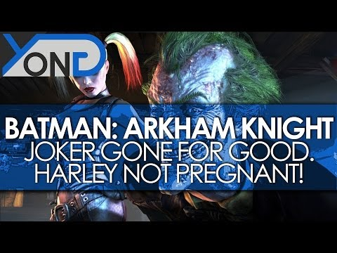 Batman: Arkham Knight - Joker Gone For Good, Harley Quinn NOT Pregnant, & More Story Details!
