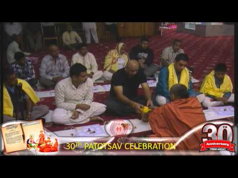 Cardiff Temple 30th Patotsav 2012 - Day 1 - Poojan Vidhi