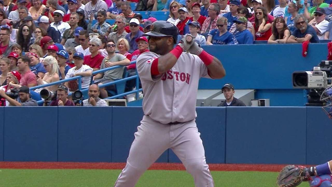 BOS@TOR: Sandoval grounds out to bring home Hanley