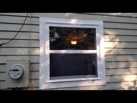 DIY Window Install on a Blank Supporting Wall!