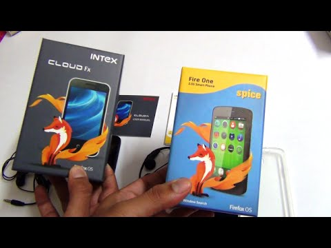 Intex Cloud FX VS Spice Fire One- Firefox OS Phones Detailed Comparison
